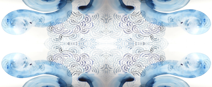 blue imagery